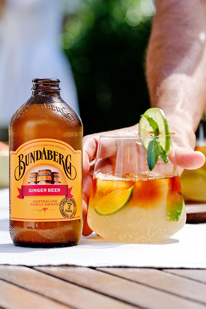 Bundaberg Ginger Beer Dark & Stormy Recipe