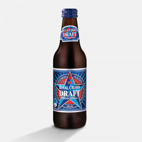 Royal Crown Premium Draft Cola brewed by Bundaberg Brewed Drinks